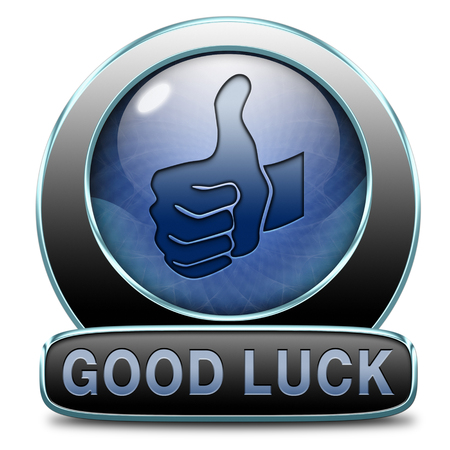 best wishes: good luck or fortune, best wishes wish you the best of luck Stock Photo