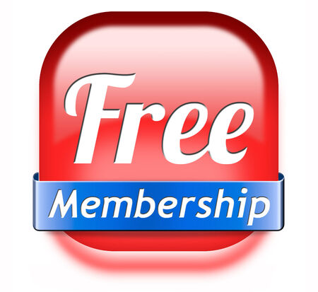 subscribe here: Apply now and subscribe here for full membership. Fill in application form. Subscription icon or button.  Stock Photo