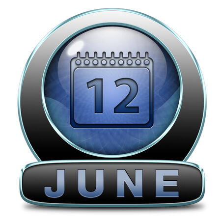 early summer: june late spring early summer month event calendar button or icon