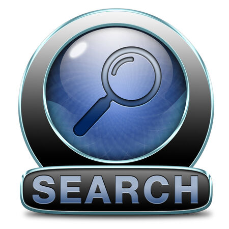 search button: Search button searching information online find info on the internet