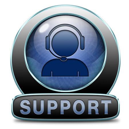 service desk: support desk icon or help desk button technical assitance and customer service