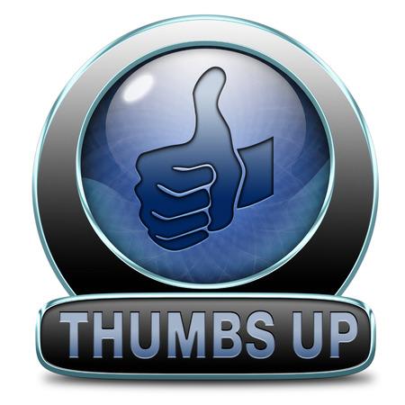 thumbs up icon: pulgares arriba icono o bot�n