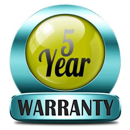 5 year warranty top quality product five years assurance and replacement best top quality guarantee guaranteed commitment photo