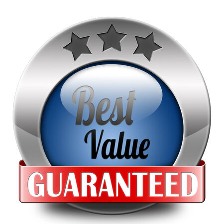 best value for the money web shop icon or online promotion button, sticker or sign for internet webshop best offer at lowest price  photo