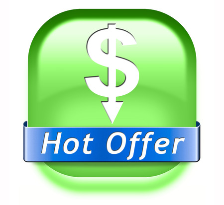 webshop: hot offer icon or sign for online internet web shop. Webshop shopping sales button announcing bargain for low and best price with the best value for you money.
