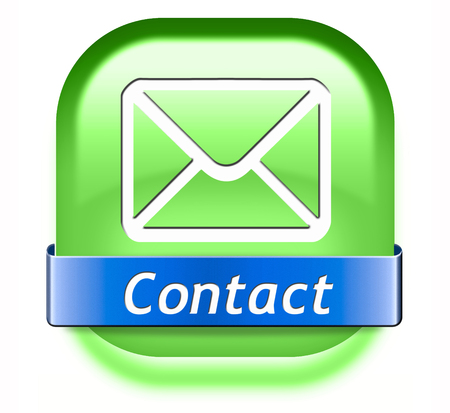 coordinates: contact address button for feedback icon, mail us. Coordinates and address for customer support and extra information