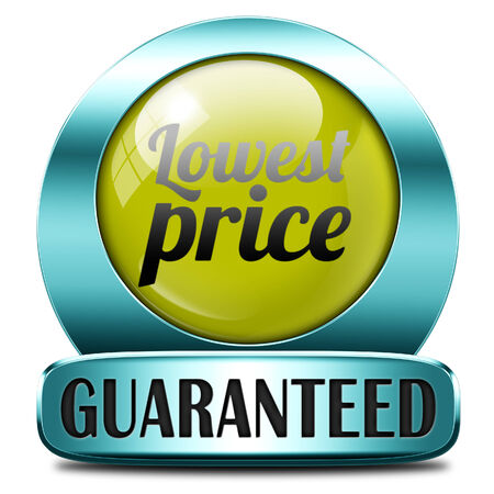 bargain: lowest price special offer bargain and sales discount icon label sticker or sign