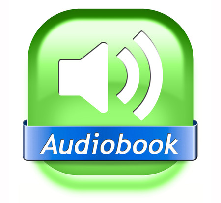 audio book: audiobook button or sign listen online or buy and download audio book