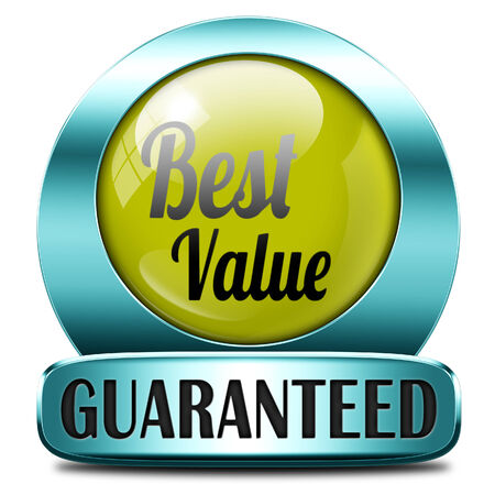webshop: best value for the money web shop icon or online promotion button, sticker or sign for internet webshop best offer at lowest price  Stock Photo