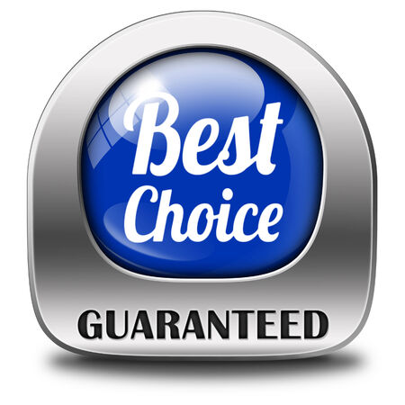 best choice top quality product label best icon comparison button with text and word concept photo