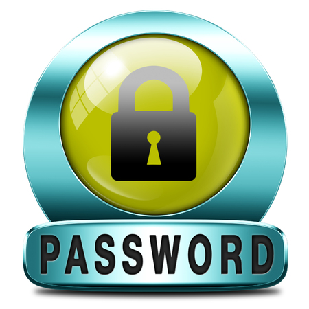 recover: password protected button data protection by using strong safe passwords recover and change for security and safety