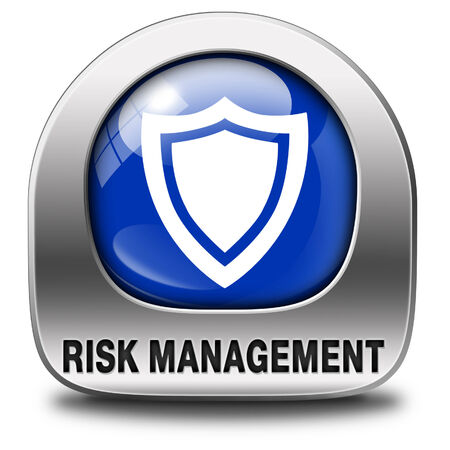 safety first: Risk management or assessment icon safety first