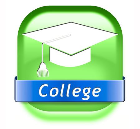 educacion universitaria: la educaci�n y el conocimiento de la universidad a aprender a saber educar a ti mismo e ir al icono o bot�n de la escuela