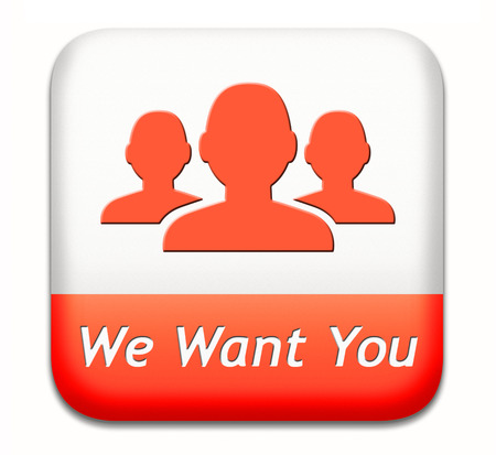 We want you sign. job search vacancy for jobs online job application help wanted hiring now job sign job button job ad advert advertising  photo