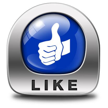 thumbs up icon: como y s�guenos Pulgar hacia arriba icono o bot�n