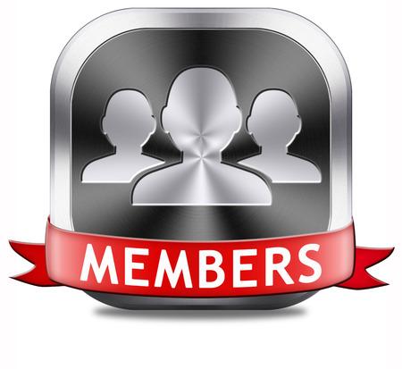 alleen voor leden beperkt gebied pictogram teken of sticker word lid en doe mee hier om uw lidmaatschap applicatie etiket of knop te krijgen.