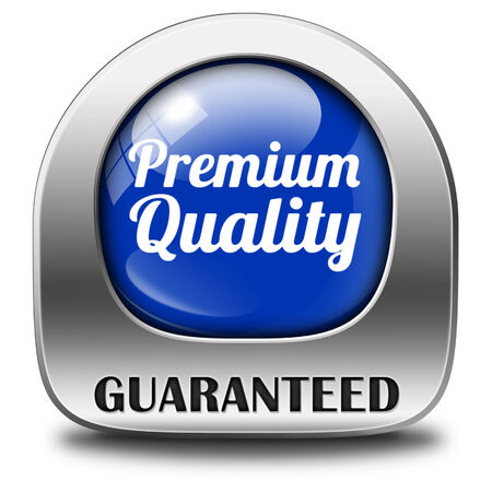 Premium product label stamp sticker icon or button top quality guaranteed best choice photo