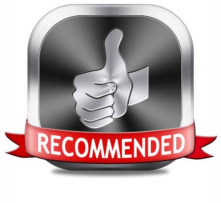 Recommandé qualité supérieure critique de produit de recommandation pour le meilleur choix, Banque d'images - 26969532