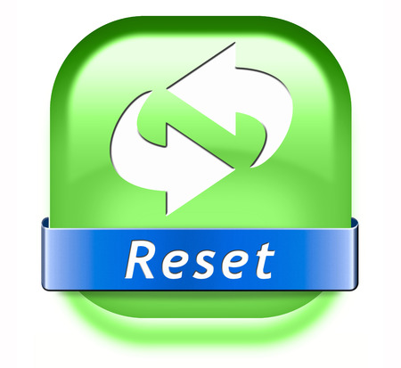 remake: Reset button start again or refresh icon refresh or redo sign