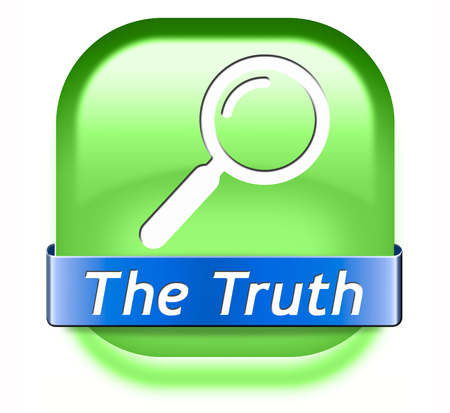 seeking an answer: truth be honest honesty leads a long way find justice truth button icon search truth