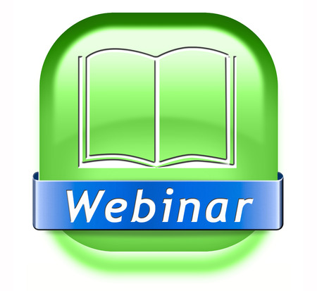 webinar online conference internet web meeting or workshop live video chat photo