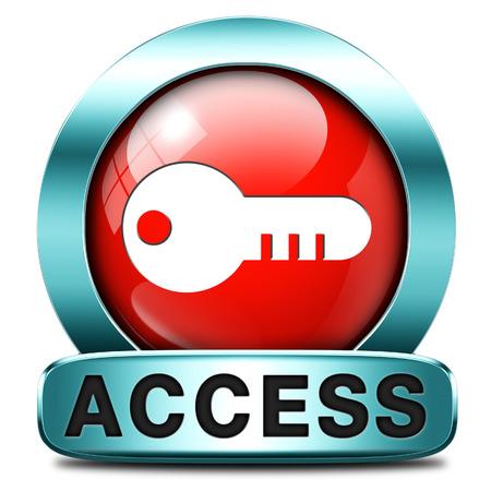 area restringida: miembros de la zona restringida protegidas clave de acceso icono de contrase�a s�lo Foto de archivo