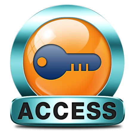 access key icon password protected restricted area members only photo