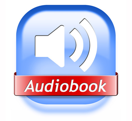 audiobook button or sign listen online or buy and download audio book photo