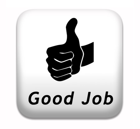 good job: good job great work well done button
