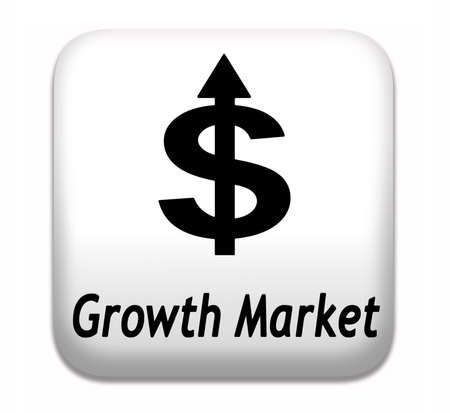 emerging economy: growth market economy growing emerging economies in international and global leading countries Stock Photo