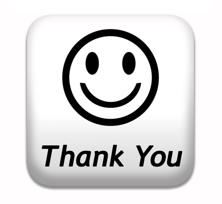 thank you note: Thank you note saying thanks a lot sign expressing gratitude