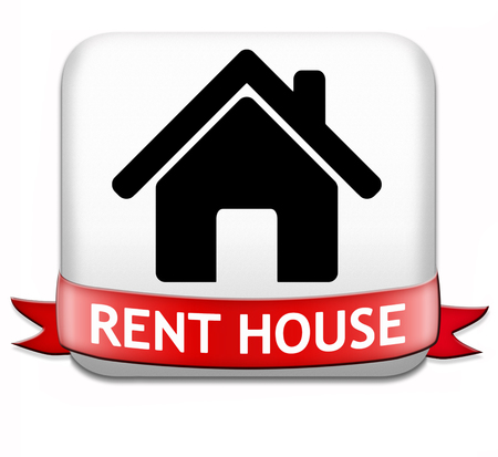 house for rent: house for rent sign, renting a flat, room apartment or other real estate sign. Home to let icon.