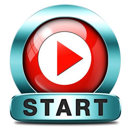 empezar: iniciar o comenzar el juego o pel�cula de v�deo nuevo comienzo