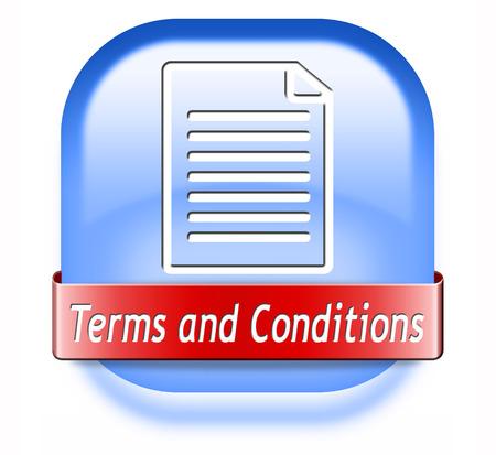 약관과 조건 사용자 가이드 및 규칙 아이콘 버튼 또는 기호 스톡 콘텐츠