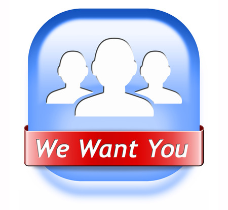 We want you sign  job search vacancy for jobs online job application help wanted hiring now job sign job button job ad advert advertising  photo