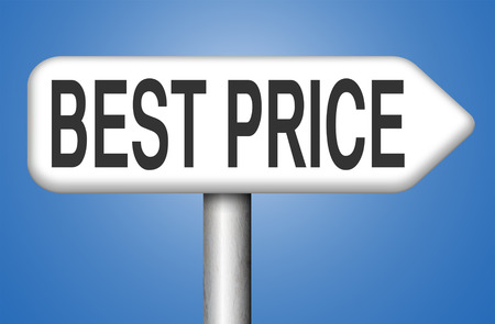 bargain: best price sign low price or bargain special offer web shop promotion