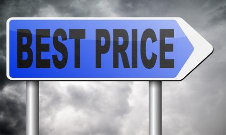 low price: miglior prezzo segno basso prezzo o affare offerta speciale promozione web shop Archivio Fotografico