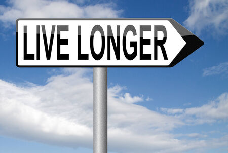 longer: live longer and healthy life stress free lifestyle Stock Photo