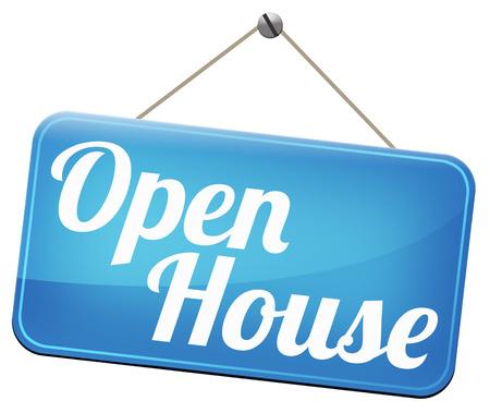 model huis op open deur voor het verkopen of kopen van onroerend goed