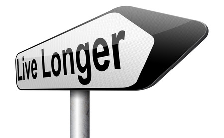 longer: ive longer and stop aging. Anti aging by living healthy and stress free