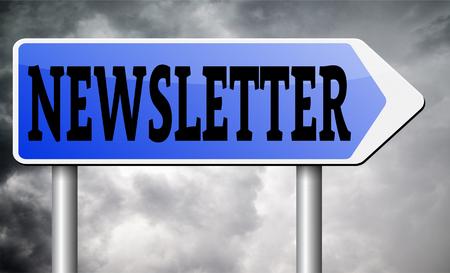 icone news: Lettre d'information avec les derni�res nouvelles chaud et cassant. bouton d'ic�ne ou route signe illustration Banque d'images