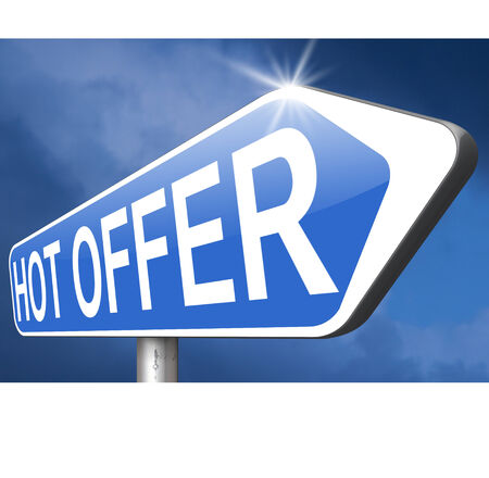 bargain for: hot offer  or sign for online internet web shop concept. Webshop shopping sales  announcing bargain for low and best price with the best value for you money.