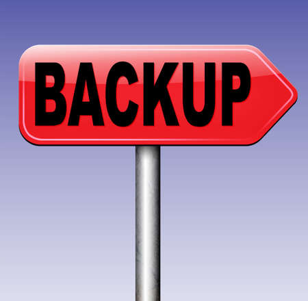 data archiving: Backup data and software on copy in the cloud on a harddrive disk on a computer or server for file security. Extra copies to restore lost data from crashed disks.