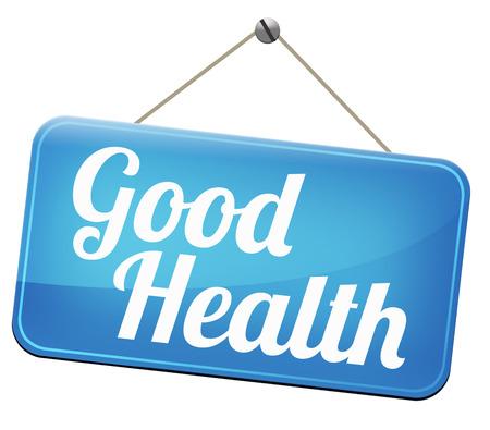 buena salud: buen estado de salud, estilo de vida saludable y alimentos