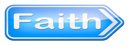 Faith and trust in God and Jesus photo