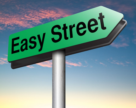 easy street istreess and risk free comfort way photo