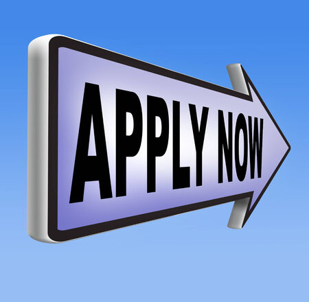 subscribe here: Apply now and subscribe here for membership. Fill in job application form. Admission road sign.
