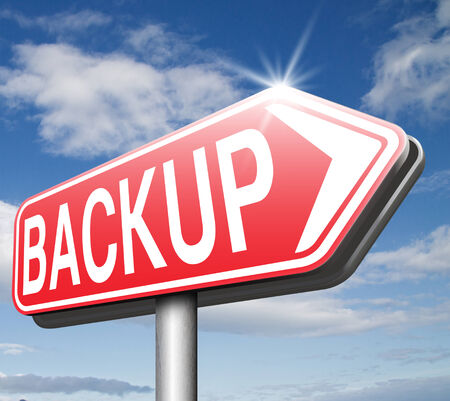 data archiving: Backup data and software on copy in the cloud on a harddrive disk on a computer or server for flie security. Extra folder on external harddrive for document recovery.
