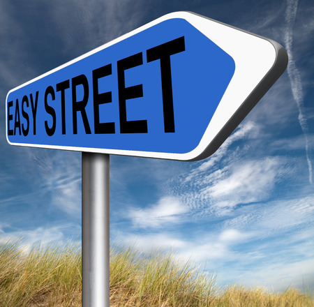 no risks easy street safe and comfortable way  photo