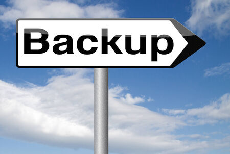 data recovery: Backup data and software on copy in the cloud on a harddrive disk on a computer or server for flie security. Extra folder on external harddrive for document recovery.